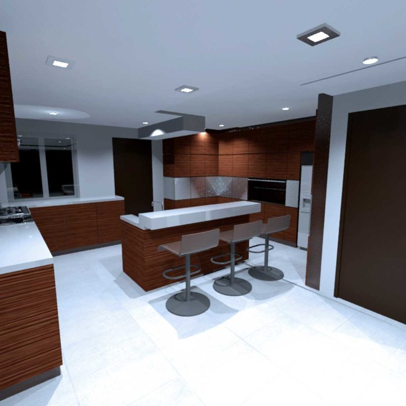 Greenwood Terrace Kitchen Design Consultancy View 1