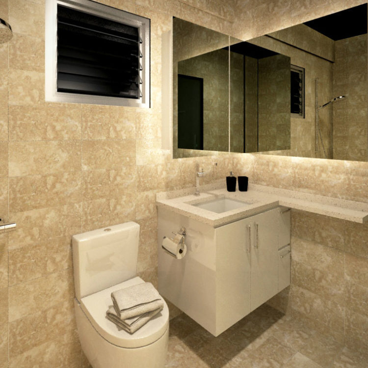 524A Tampines Central 7 HDB 5 Room BTO Bathroom View 1
