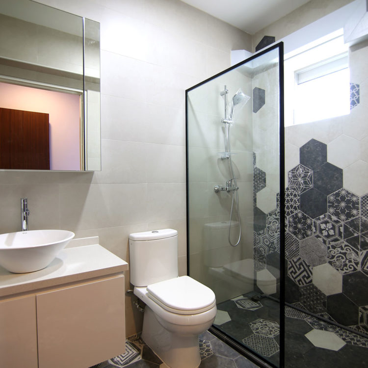 188A Bedok North Bathroom As Built View 2