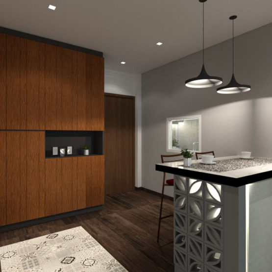 Admiralty Resale Communal Space Design View 1