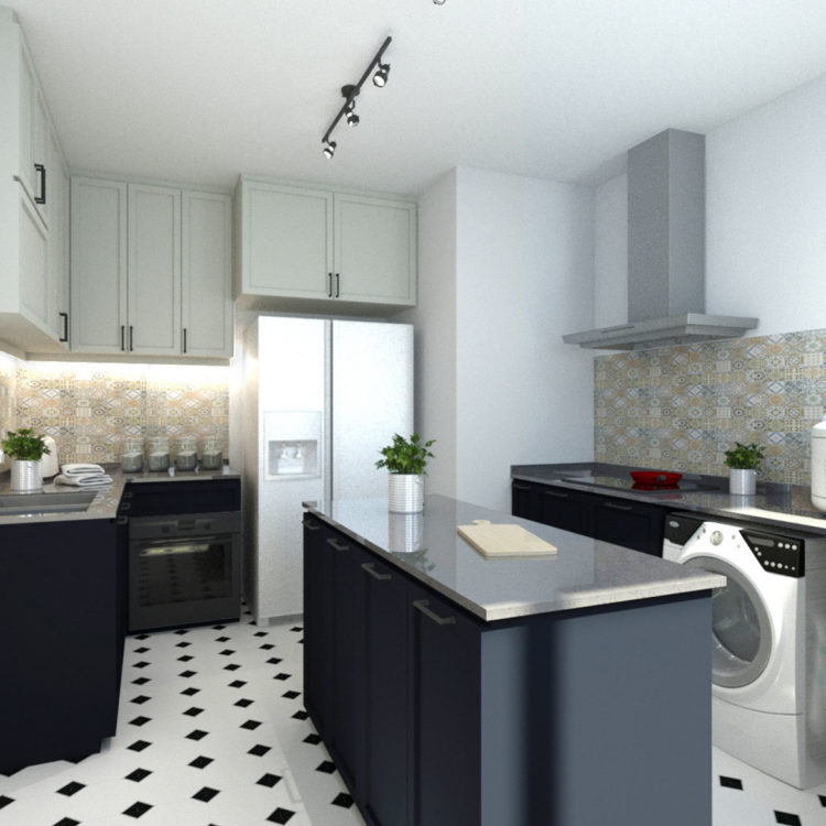 Admiralty Resale Kitchen Design View 1