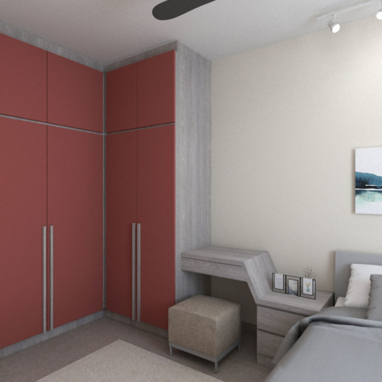 Canberra Bedroom Design View 3