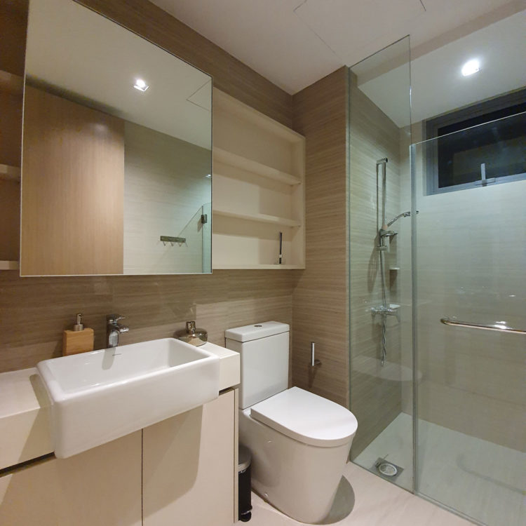 Highpark Residences Bathroom View 2