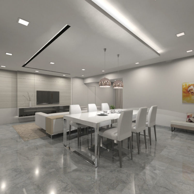Jurong St 71 Communal Space Design View 1