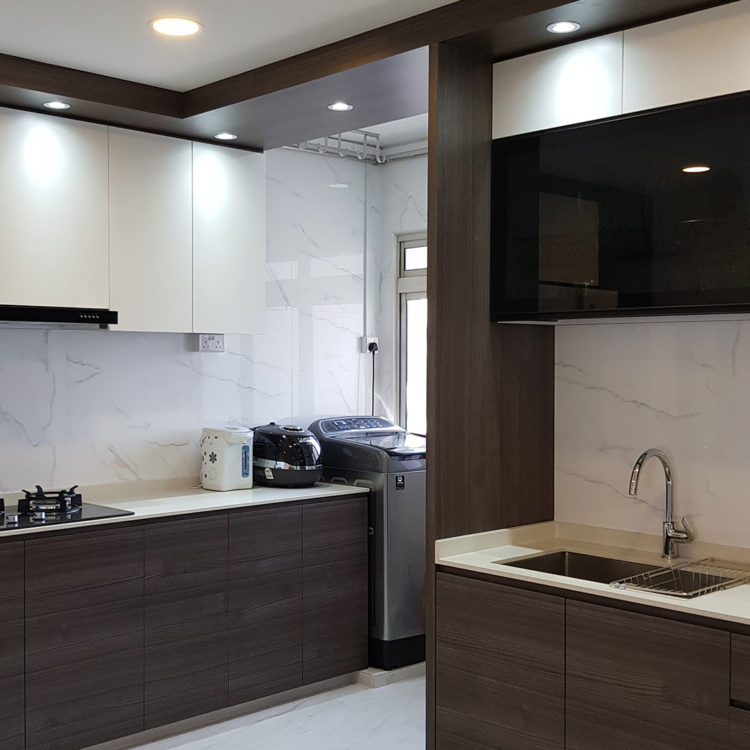 Jurong St 71 Kitchen As Built View 1