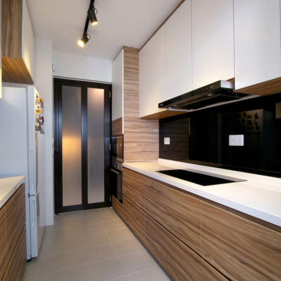 McNair Towers Kitchen View 1