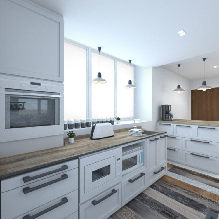 Moda Kitchen Design View 1