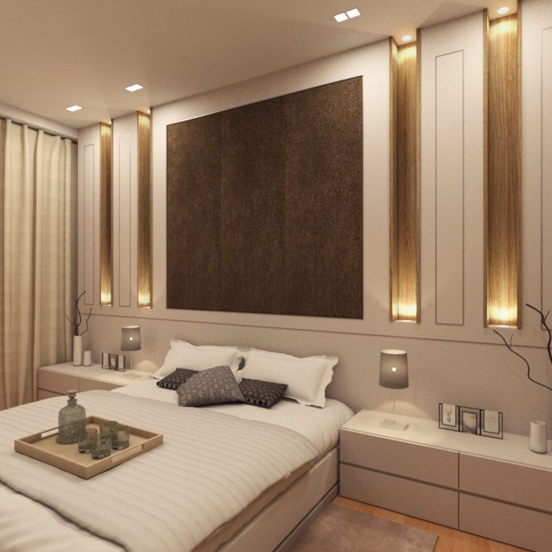 Reflections Keppel Bay Bedroom Design View 1